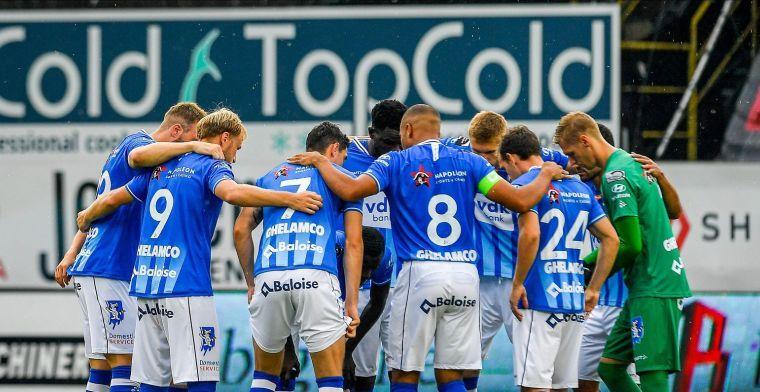 Gent mikt op eerste punten: Wij verdienen het niet om laatste te staan