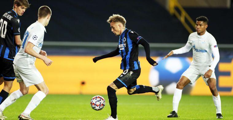 """Lang geniet bij Club Brugge na Zenit: """"Ik ben echt trots op het team"""""""