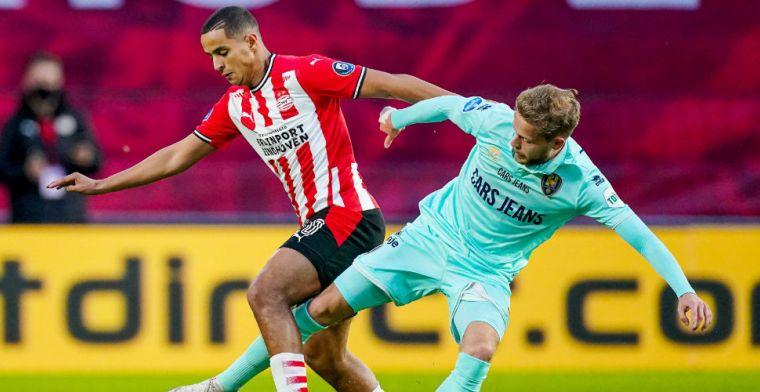 'Vaste namen bij PSV tegen Granada, Ihattaren neemt plaats op de bank'