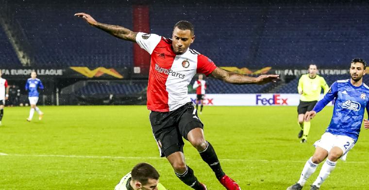 Narsingh baalt van zichzelf bij Feyenoord: Dat is gewoon kut