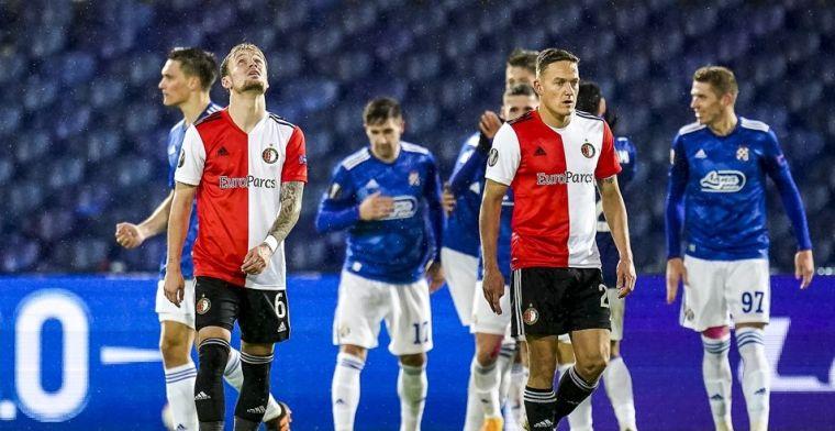 Feyenoord op rapport: zes dikke onvoldoendes, wel een 7 voor één pechvogel