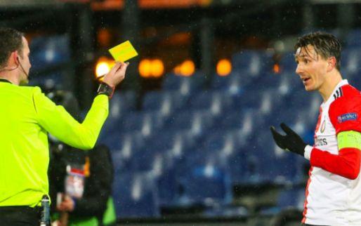 Afbeelding: Berghuis hekelt arbitrage in Europa League: 'Niveau niet heel hoog'