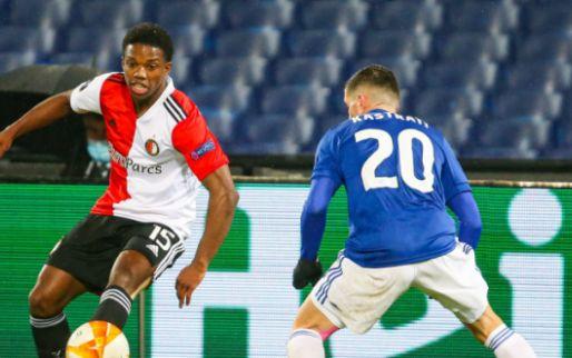 Afbeelding: Malacia baalt na zure nederlaag tegen Dinamo Zagreb: 'Mag geen excuus zijn'