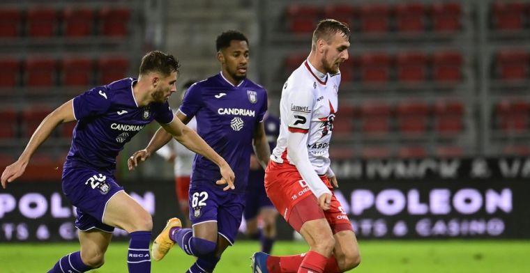 Miazga niet tevreden na gelijkspel van Anderlecht: Onaanvaardbaar
