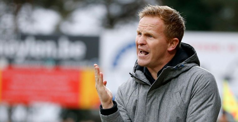 """Vrancken met de handen in het haar bij KV Mechelen: """"Het is frappant om te zien"""""""