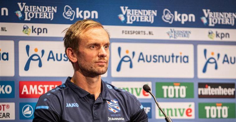 De Jong sprak niet alleen met Heerenveen: 'Maar dat is nu niet meer belangrijk'