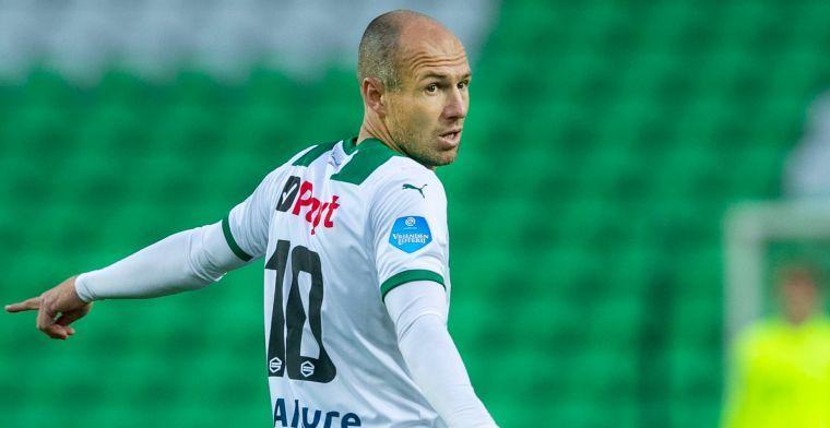 Robben zet kruis over rest van 2020: 'Meer handtekeningen dan wedstrijdminuten...'