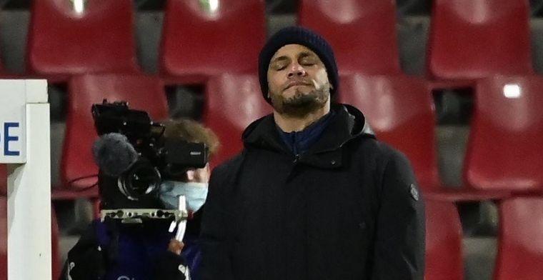 Ook Kompany onder druk bij Anderlecht: 'Zever in pakskes'