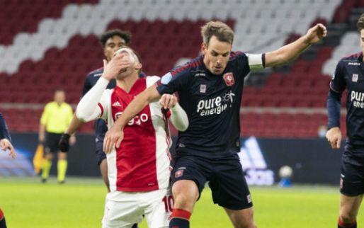LIVE: zwak Ajax loopt schade op tegen FC Twente richting 'Atalanta' (gesloten)