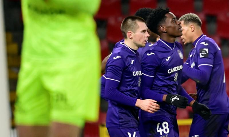 Afbeelding: Sambi Lokonga scoort voor Anderlecht: