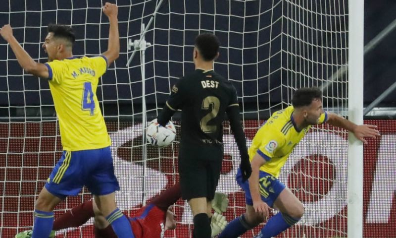 Afbeelding: Druk op Koeman neemt toe: Barça zet zichzelf voor schut tegen Cádiz