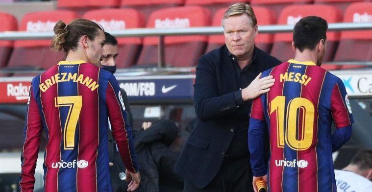 Barça-president wil in gesprek met Koeman: 'Hij heeft het niet goed begrepen'