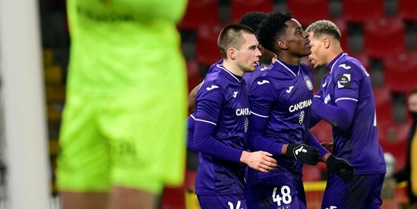 Sambi Lokonga scoort voor Anderlecht: Vanavond overweegt de teleurstelling