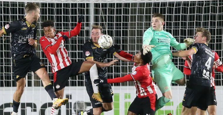 Roda JC verlengt ongeslagen reeks, maar wint weer niet van Angstgegner Jong PSV