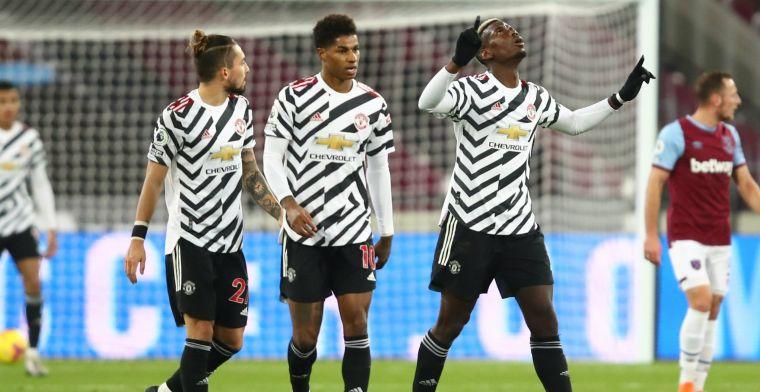 Manchester United buigt na Van de Beek-wissel 1-0 achterstand om in 1-3 zege