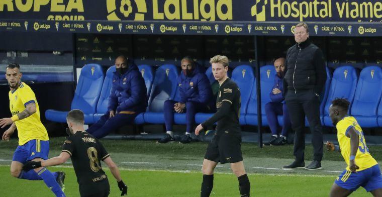 Koemans Barça diep gezonken: 'Alsof het een potje voor WK 1954-veteranen was'