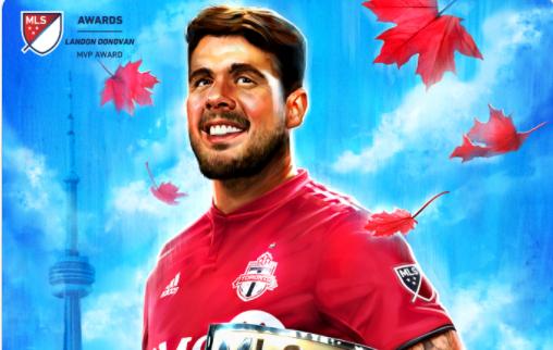 Afbeelding: Pozuelo (ex-KRC Genk) in de MLS verkozen tot Speler van het Jaar