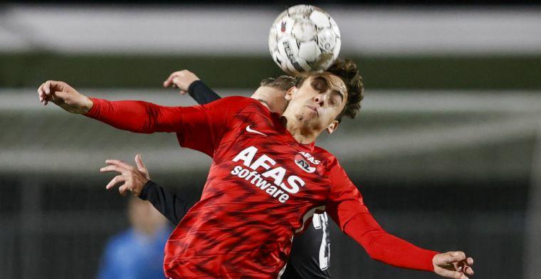 AZ breekt contract talentvolle middenvelder open: 'Technisch vaardige speler'