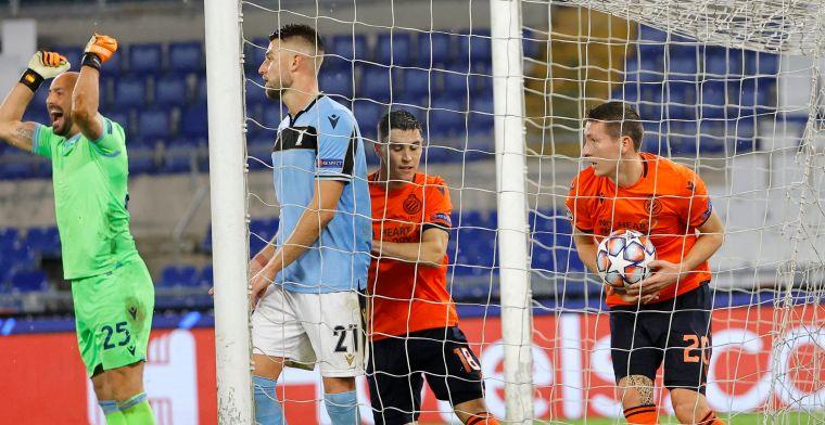 Wonder van Lazio strandt op de lat, Club Brugge met tien naar Europa League  | VoetbalPrimeur.be