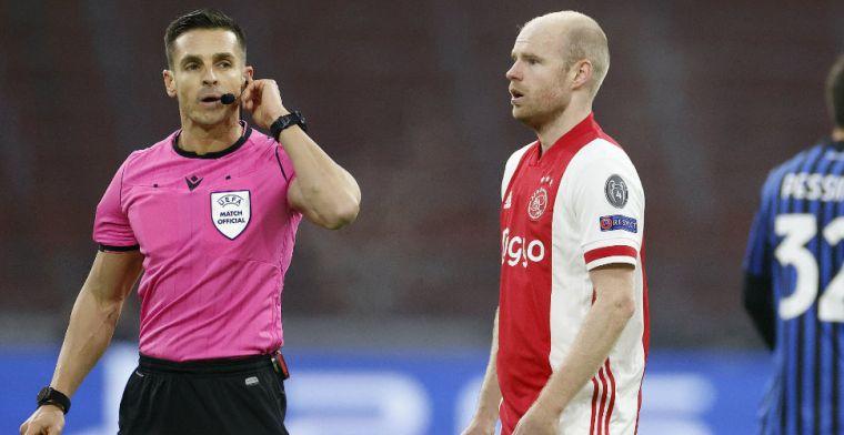 Klaassen reageert op penaltymoment Huntelaar: 'Dan zal het wel niet zo zijn toch?'