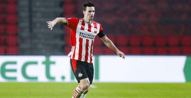 Balen van plek op PSV-bank: 'Teleurgesteld dat ik weinig gespeeld heb dit seizoen'