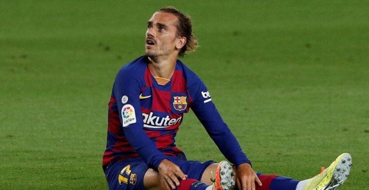 Griezmann komt met statement: Barça-aanvaller breekt met Chinees bedrijf