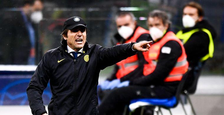Conte woest na Champions League-uitschakeling: 'Het is echt ongelofelijk'