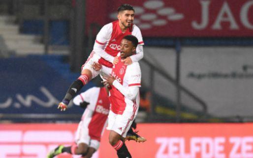 Afbeelding: Jong Ajax deelt tik uit aan De Graafschap, flitsende start Almere genoeg