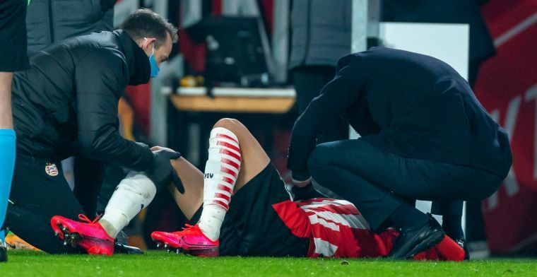Klap voor PSV en Ledezma: Amerikaan komt dit seizoen niet meer in actie