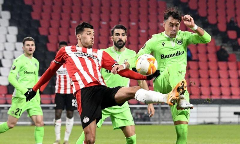 Afbeelding: 'Coronabom' op Cyprus: spelers van PSV-opponent Omonia besmet met virus