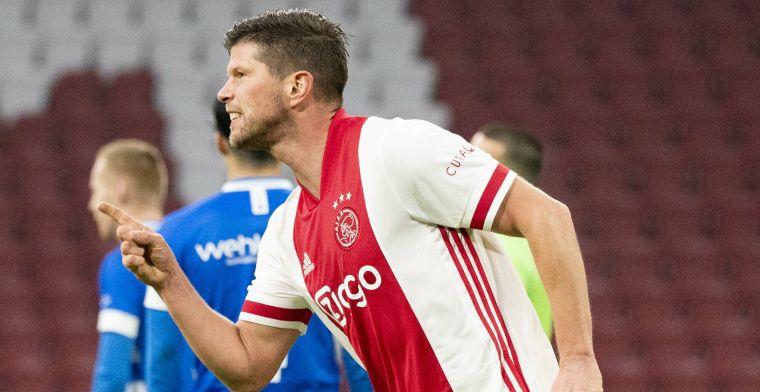 Huntelaar kondigt na Ajax-PEC Zwolle einde van voetbalcarrière aan