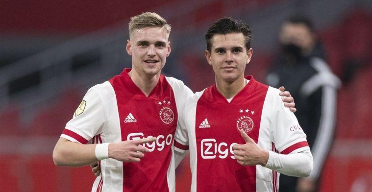 Ajax-debutant komt van ver: 'Het was erg zwaar, maar hier heb ik op gewacht'