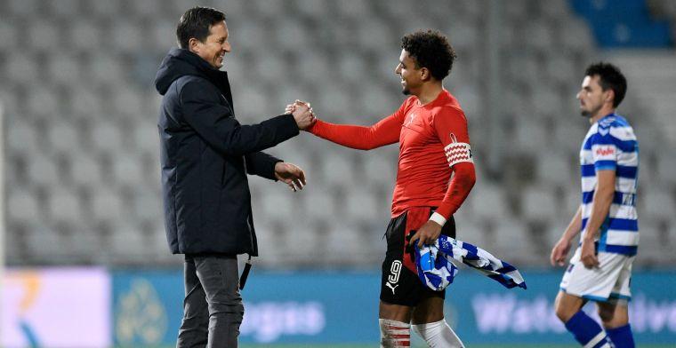 Schmidt vreesde enkelbreuk bij PSV: 'Ergste wat je kunt doen als tegenstander'