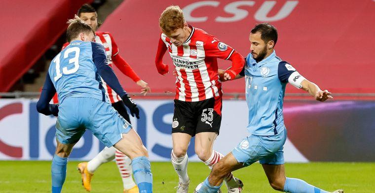 Grote dromen na officieel debuut voor PSV: 'Manchester City en Bayern München'