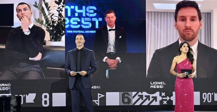 FIFA-stemmen openbaar gemaakt: Messi negeert Ronaldo en zet Lewandowski op 3