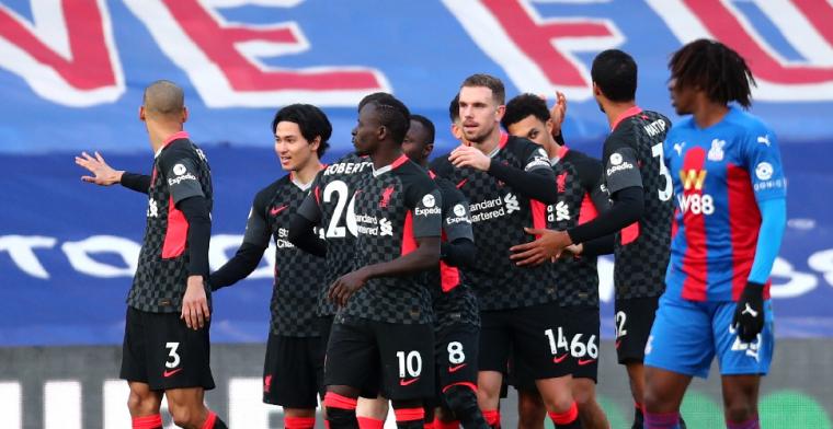 Liverpool-machine komt weer op stoom: zeven (!) goals tegen Crystal Palace