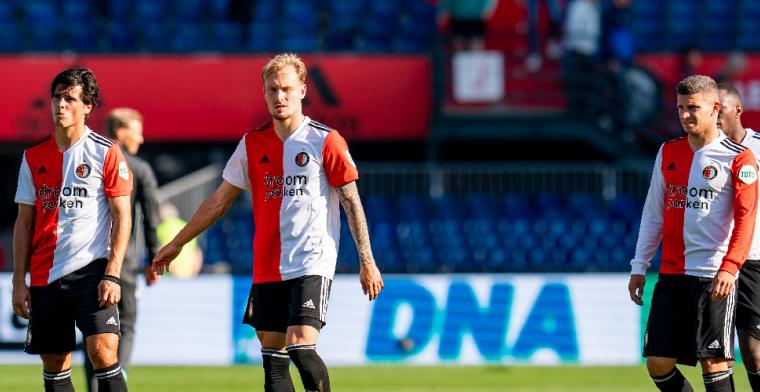 'Een bepaalde angst' bij duo van Feyenoord: 'Je eigen ding blijven doen'