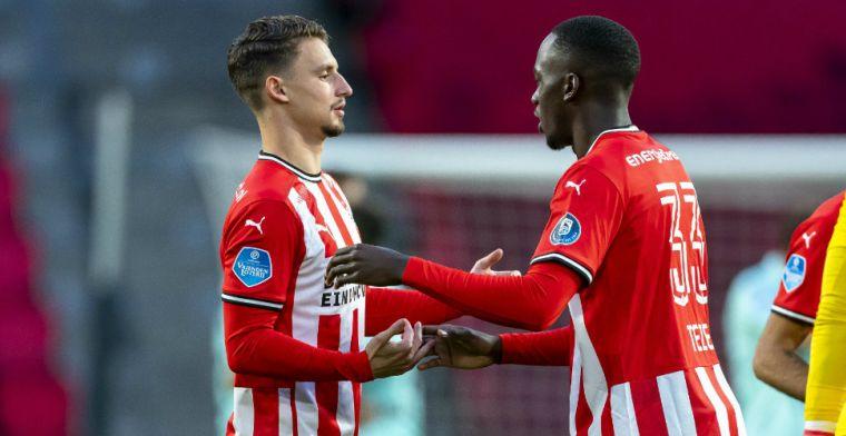 Perez en De Boer oneens over PSV-verdediger: 'Lang niet zo goed als Blind'
