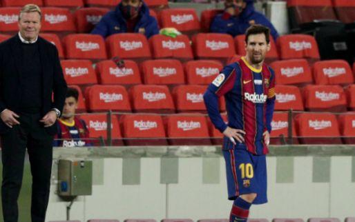 Afbeelding: Koeman looft Barça-uitblinker: 'Band met Messi, goede spelers begrijpen elkaar'