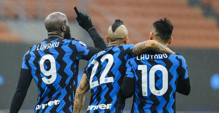Lukaku en Internazionale sluiten 2020 af met overwinning tegen Verona