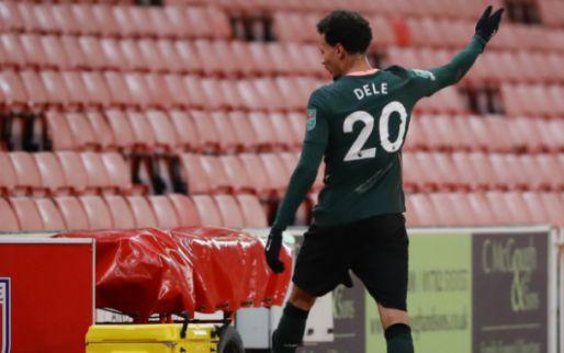Afbeelding: Mourinho fileert boze Alli na wissel tegen Stoke City: 'Ik was boos'