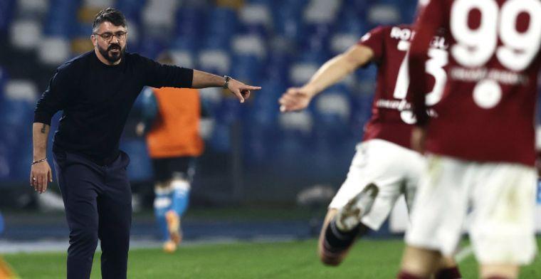 Gattuso voor eerst sinds lange tijd voor camera: 'Ze vinden het erg me zo te zien'
