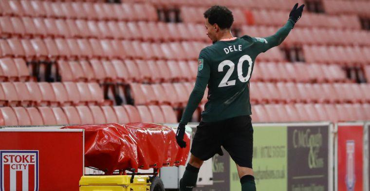 Mourinho fileert boze Alli na wissel tegen Stoke City: 'Ik was boos'