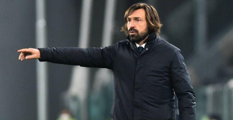 Pirlo krijgt volle laag van Napoli-voorzitter: 'Hij moet het bij coachen houden'