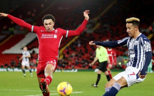 Afbeelding: Liverpool profiteert niet van morsende concurrenten: 'Big Sam' pakt een punt
