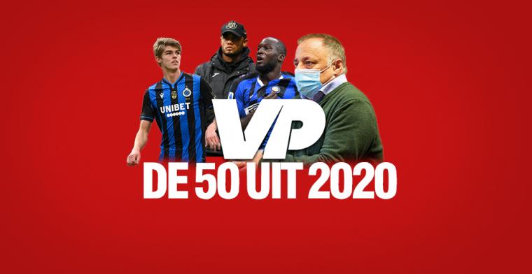 De vijftig spraakmakendste figuren uit het Belgische voetbal in 2020 – 50 tot 41