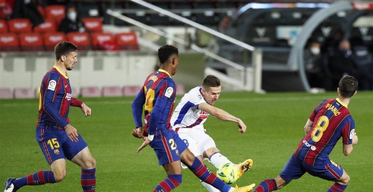 Zorgen voor Barcelona nemen toe na beschamend gelijkspel in Camp Nou