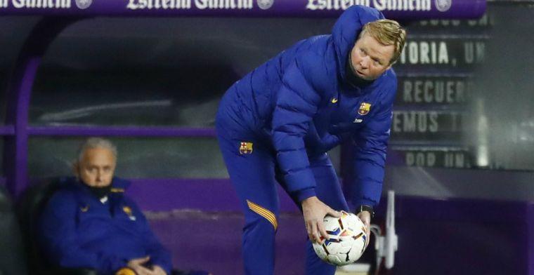 'Barça-directeur wel, Koeman niet: trainer ontsnapt aan straf na felle kritiek'