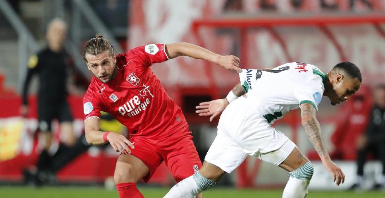 FC Twente laat Lamprou alweer gaan: 'Niet gelukkig met de situatie'