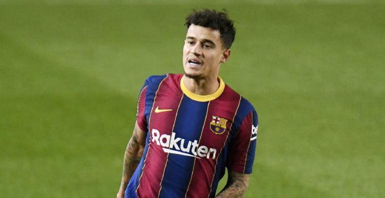 Update: Barça bevestigt vrees over Coutinho: Braziliaan moet onder het mes